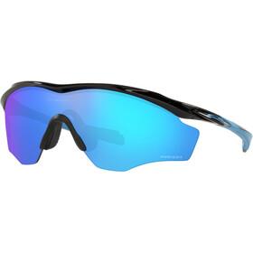 Oakley M2 Frame XL Sunglasses Men polished black/prizm sapphire